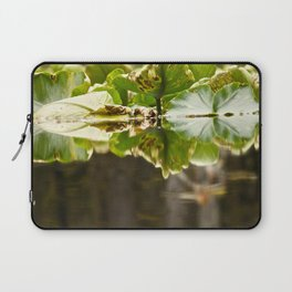 Lily Pad Photography Print Laptop Sleeve