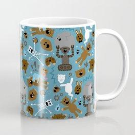 Crazy MonkeyTeddyBears Pattern Coffee Mug
