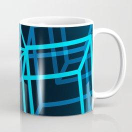 Boxing the blues Coffee Mug