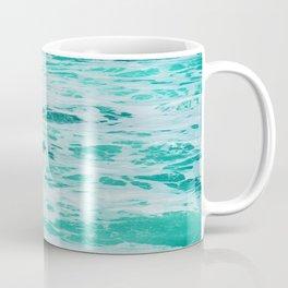 teal waves Coffee Mug