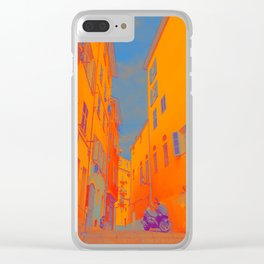 NICE, FRANCE Clear iPhone Case