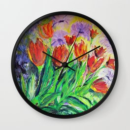 it's springtime Wall Clock