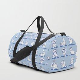 Maltese Yoga Duffle Bag