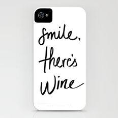 Smile - Wine iPhone (4, 4s) Slim Case