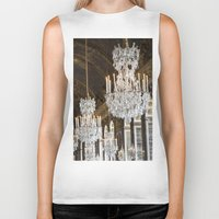 chandelier Biker Tanks featuring Versailles Chandelier by Scott Board
