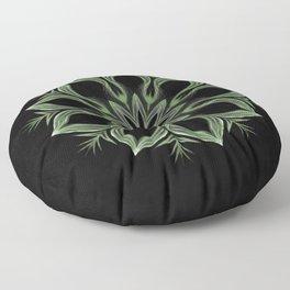 Alien Mandala Swirl Floor Pillow