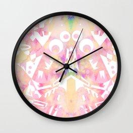 Noisy poetry Wall Clock