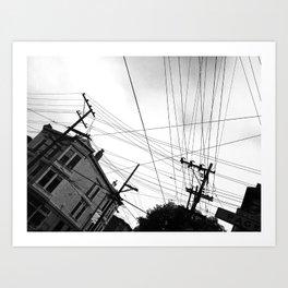 Page st San Francisco Art Print