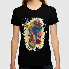 Sardinia, paint drops map T-shirt