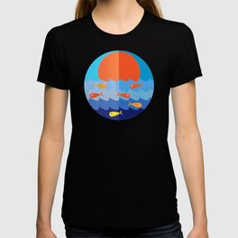 Fish fishing for friends T-shirt