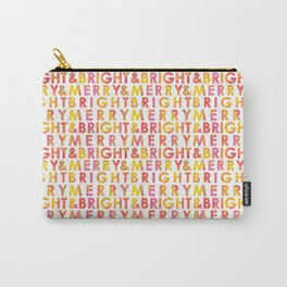 Merry & Bright Repeat Carry-All Pouch