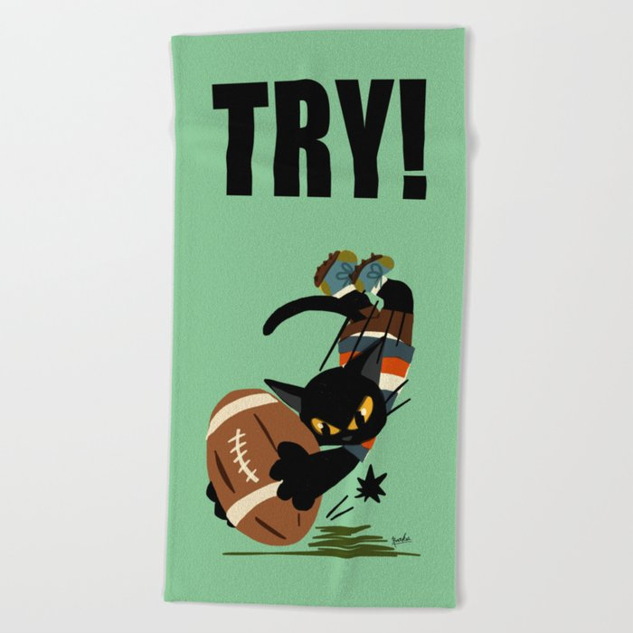 Try! Beach Towel