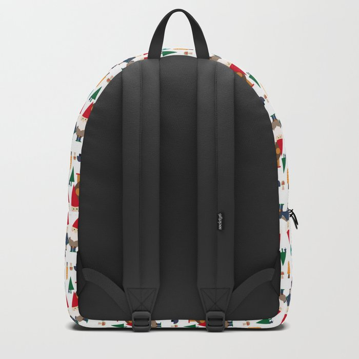 Gnome white Backpack