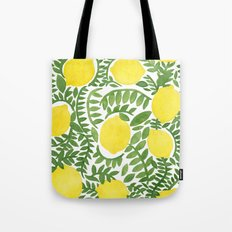 The Fresh Lemon Tote Bag