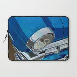 Classic Retro Car Art Series #1 in Harbor Blue Laptop Sleeve