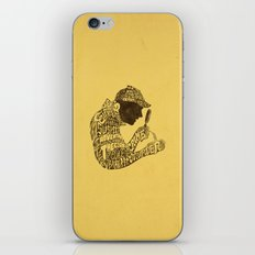 Man of Many Words iPhone & iPod Skin