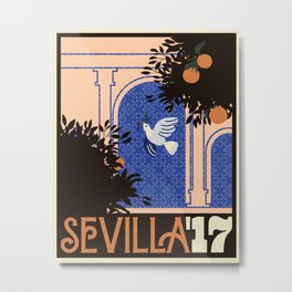 Sevilla '17 Metal Print
