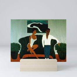 The Couch Mini Art Print