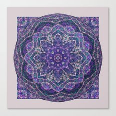 Batik Meditation  Canvas Print