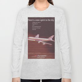 1977 Airliner poster Long Sleeve T-shirt