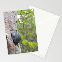 Mongrove snail Stationery Cards