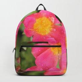 Neon Flowers Backpack