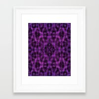 ikat Framed Art Prints featuring Ikat by Charlene McCoy