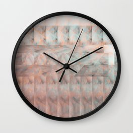 marble print Wall Clock