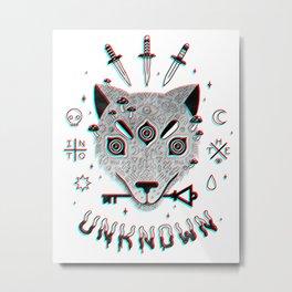 Follow Me... Metal Print