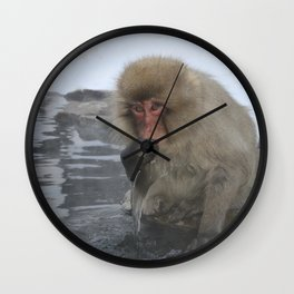 King of the Onsen Wall Clock