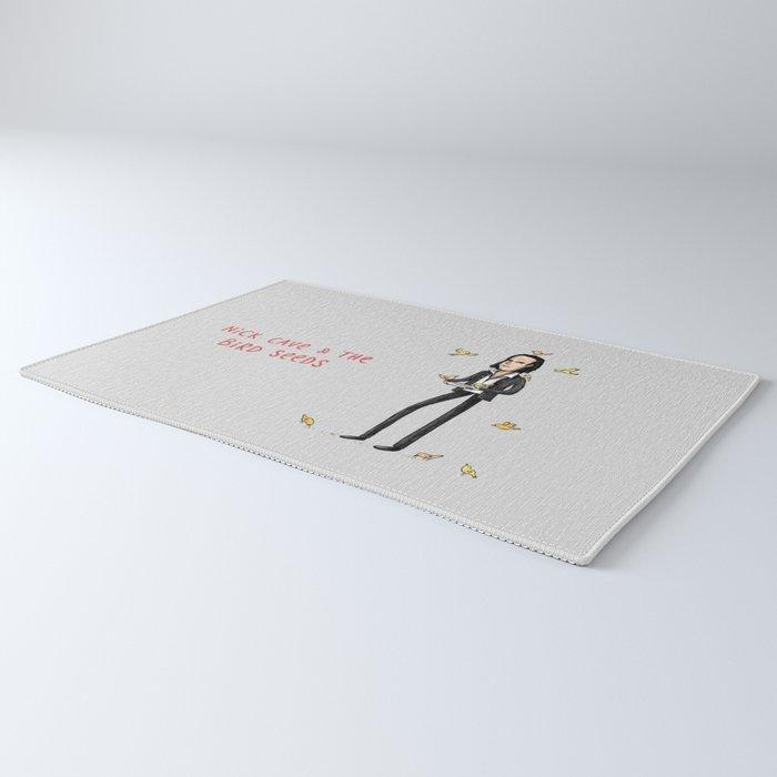 Nick Cave & The Bird Seeds Rug