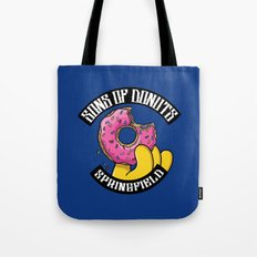 Sons Of Donuts / Simpsons / Donuts Tote Bag