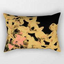 Orange Flow Rectangular Pillow