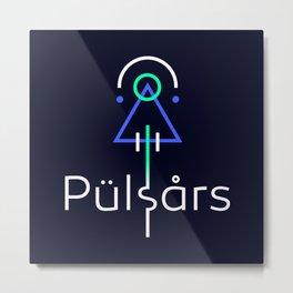 Pulsars Metal Print