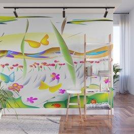 """Spring Fling"" Wall Mural"