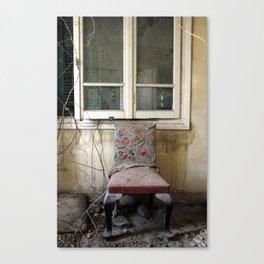 Whore Chair Canvas Print