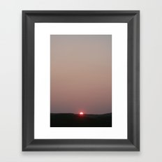 Almost gone Framed Art Print