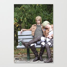 20150926 Mike X Nanaba, Relax Canvas Print