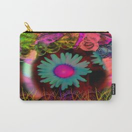 Tripping Daisies Carry-All Pouch