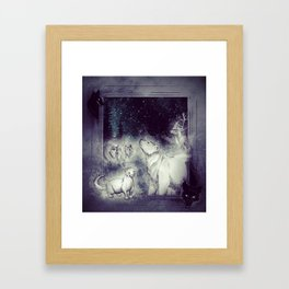 Long Ago Spirits Framed Art Print