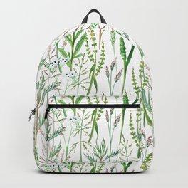 herbal pattern Backpack