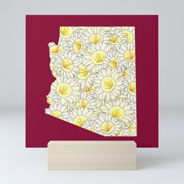 Arizona in Flowers Mini Art Print