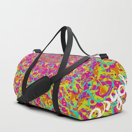 Psyched Out Duffle Bag