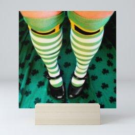 Sassy Leprechaun Mini Art Print