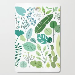 Botanical Chart Cutting Board