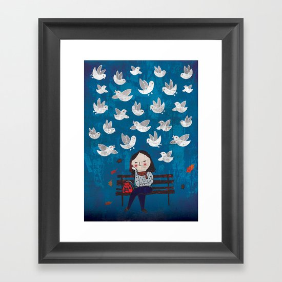 Catch sight of wonders! Framed Art Print