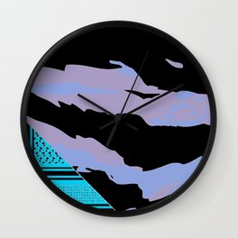 Brown Tiger Camouflage Wall Clock