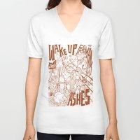 half life V-neck T-shirts featuring Half Life 2 tribute by Matteo Cuccato - Strudelbrain
