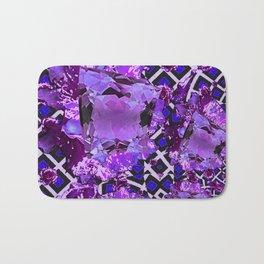 Amethyst Purple Gems February Birthday Babies Bath Mat