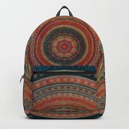 Earth Tone Colored Mandala Backpack